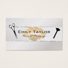 Linen yellow gray modern minimalist plain elegant business card brushed kiss hair and makeup business card salon gifts style unique ideas colourmoves