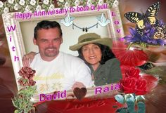 Anniversary Card for 2 very special People in my Life