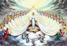 Mary: Queen of Heaven | Ave Maria Press--one of my daughter's favorite pictures.