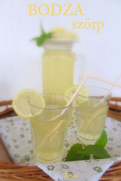 Elderflower, Glass Of Milk, Pudding, Fruit, Drinks, Desserts, Food, Kochen, Tailgate Desserts