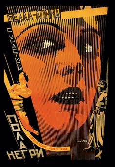 Bella Donna - Pola Negri No. 2, by Naumov