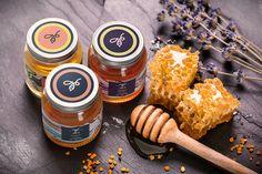 We Love This Mesmerizing Honey Packaging — The Dieline | Packaging & Branding Design & Innovation News