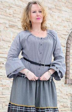 Блузки ручной работы. Блуза бохо