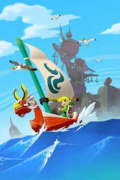 The Legend of Zelda: The Wind Waker, Toon Link and The King of Red Lions