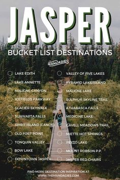 Discover the best Jasper National Park one-week itinerary here! It will take you some of the best spots in Jasper, including Athabasca Falls, Maligne Lake, Pyramid Island, and some secret spots in the Canadian Rockies! Canadian Travel, Canadian Rockies, Banff National Park, National Parks, Jasper National Park, Alberta Travel, Canada Holiday, Hawaii, Parks Canada