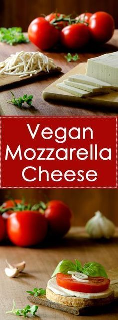 Vegan mozzarella that's healthier than store-bought and much better for you than dairy cheese.