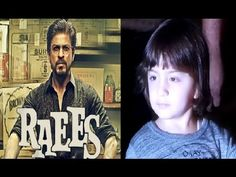 Abram's reaction after watching Shahrukh Khan's RAEES movie trailer.