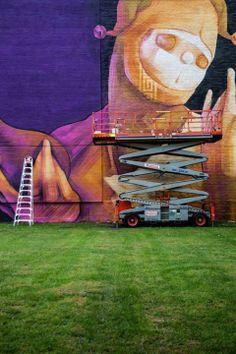 INTI @ Mural Festival 2014, Montreal, Canada