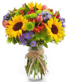 Chi O picnic flowers