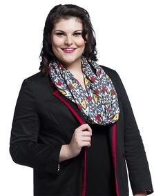 x wide, this infinity scarf is ready to wrap around your neck and protect you from the Vulcan nerve pinch. Star Trek Gifts, Star Trek Tos, Princess Seam, Infinity, Winter Fashion, Bomber Jacket, Blazer, Stars, My Style