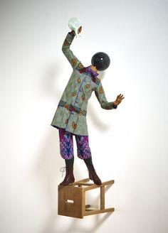 Yinka Shonibare - Bad School Boy 2014