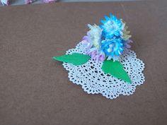 Moje biurko: Małe kwiatuszki - kursik