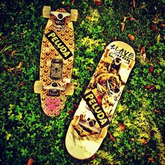our skateboards