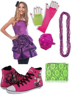 The 80s Fashion For Girls s costume idea for Bowl for