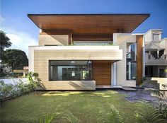 House in Mohali by Indian firm Charged Voids;  http://www.livegreenblog.com/materials/house-in-mohali-by-indian-firm-charged-voids-10276/