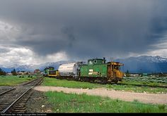 RailPictures.Net Photo: BN 10286 Burlington Northern Railroad caboose at Leadville, Colorado by Mike Danneman