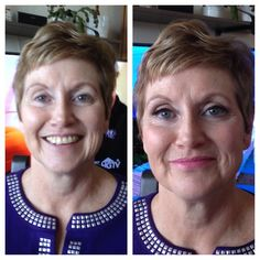 Mother of the bride make-up for Melissa's mom Kathy, by Maya Goldenberg Eco Beauty Professional summer 2014
