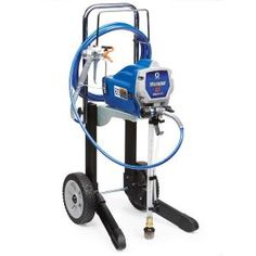Get a great coverage of interior walls and ceilings, outdoor siding, decks and fences with this Graco Magnum Airless Paint Sprayer. Paint Sprayer Reviews, Best Paint Sprayer, Using A Paint Sprayer, Grey Exterior, Exterior Paint, Exterior Homes, 5 Gallon Paint Bucket, Concrete Floor Coatings, Handyman Projects