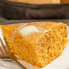 Sweet Potato Cornbread. Holiday-perfect. Plus an extra dose of nutrition. Moist 'n delish!