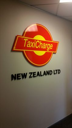 Acrylic lettering for TaxiCharge by Speedy Signs Newton