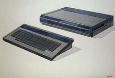 Atari 1200 & A300 Concept Sketches - Creative Journal