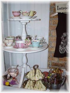 Tea party at Randoons