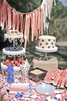 love this cake. with topper.