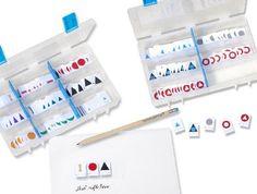 Sparset 14 Montessori-Wortartensymbole, Profi-Ausführung. Wortarten mit Montessori einfach kennenlernen.