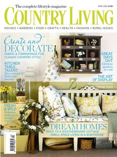 Country Living UK edition April 2012 cover www.countryliving.co.uk