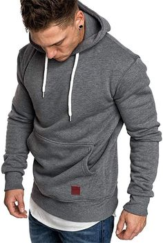 Tolles Sweatshirt für's Gym  Bekleidung, Herren, Sweatshirts & Kapuzenpullover, Kapuzenpullover Hoodie Sweatshirts, Pullover Hoodie, Hoodies, Fall Winter, Men Sweater, Turtle Neck, Mens Fashion, Long Sleeve, Casual