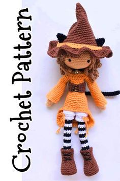 Willow the Witch Lovey and Amigurumi Crochet Patterns Pack | 354x236