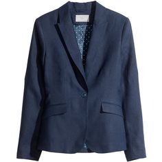 H&M Jacket in a linen mix