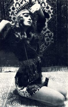 Persia. Dress by Miss Impact. I just like the look and feel of this 60's or possibly 70's image.