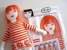 Tilda Doll - Welkom bij liel, een leuke webshop voor fournituren, ritsen, knopen...
