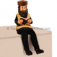 Rabbi Figurine - Reading