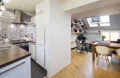 Při rekonstrukci se rozšířil i průchod do obývacího pokoje.
