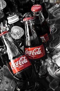 Coca Cola Bottles - Photo by Brenton Woodruff, Fine Artist
