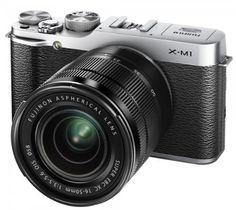 """Fujifilm X-M1 KIT 16-50 EE TD - Cámara EVIL de 16.5 Mp (pantalla de 3"""", objetivo(s) 16.0-50.0mm f/3,5, estabilizador de imagen) plateado B00DM7X69A - http://www.comprartabletas.es/fujifilm-x-m1-kit-16-50-ee-td-camara-evil-de-16-5-mp-pantalla-de-3-objetivos-16-0-50-0mm-f35-estabilizador-de-imagen-plateado-b00dm7x69a.html"""