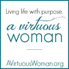 You'll find thousands of ideas to help you find peace in your heart and peace in your home! @ AVirtuousWoman.org