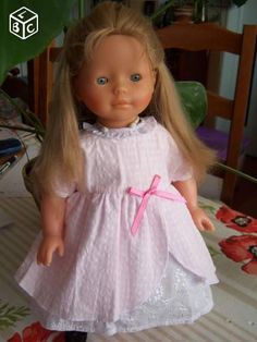 Adeline taille 42 cm ancienne poupee corolle 94
