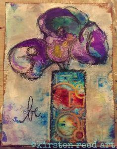 keystrokes & kaleidoscopes: Bursts of color with Ken Oliver and StencilGirl!