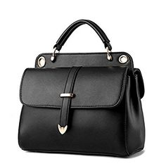 VVeda Messenger Packet 2016 New Korean Fashion Ladies Handbag Shoulder Bag(Black): Handbags: Amazon.com