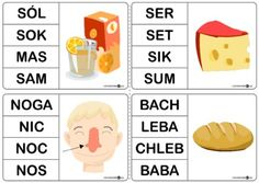 Wyrazy jednosylabowe – oznaczanie klamerkami – zestaw dla leworęcznych - Printoteka.pl Education, Speech Language Therapy, Projects, Teaching, Onderwijs, Learning