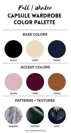 Create a Wardrobe Color Palette – VETTA
