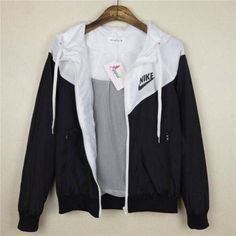 jacket nike black and white sportswear active women nike windbreaker windbreaker…