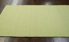$5 Off when you share! Jubilee Outdoor Braided Lt Green Rug | Solid & Striped Rugs #RugsUSA