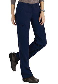 Greys Anatomy Stephanie 5-pocket slim fit scrub pants. - Scrubs and Beyond