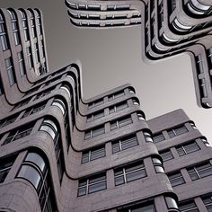 Beautiful photograph of buildings from a different perspective