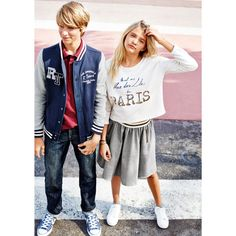 Blusão estilo teddy 10-16 anos R Teens | La Redoute