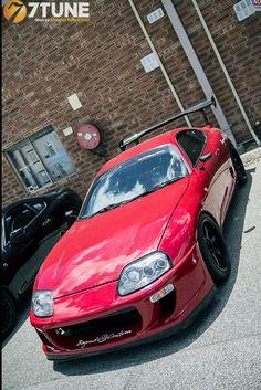 Love the Ridox front Toyota Supra Mk4, Toyota Cars, Japanese Sports Cars, Japanese Cars, Tuner Cars, Jdm Cars, Import Cars, Sweet Cars, Car Engine